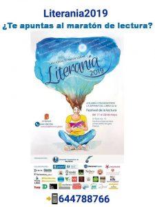 Estaremos en Literania 2019 – festival de lectura para grandes y pequeños