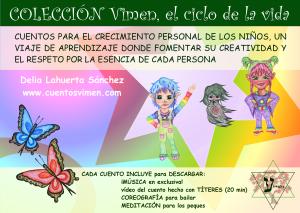 """Promoción de cuentos """"Vimen, el ciclo de la vida"""""""